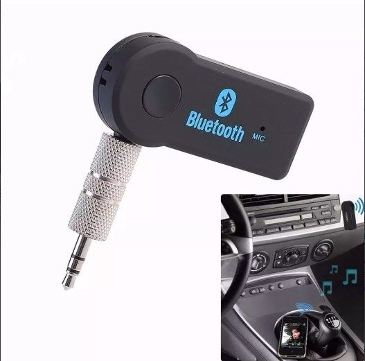New Receptor Bluetooth Adaptador Musica P2 Chamada Som Carro - ILIMITI SHOP