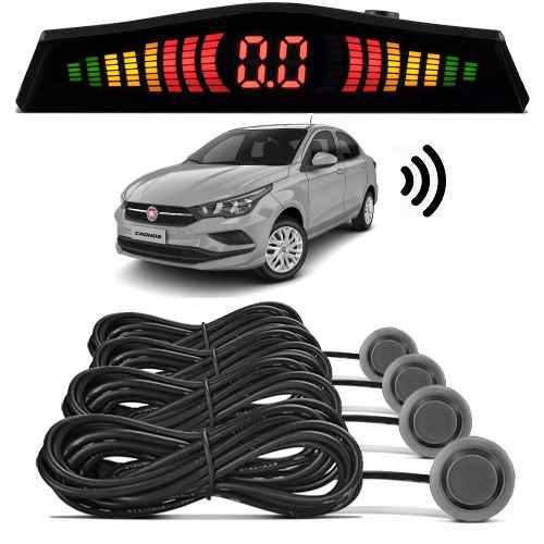 Sensor De Estacionamento 4 Pontos Com Display De Led Tomate - ILIMITI SHOP