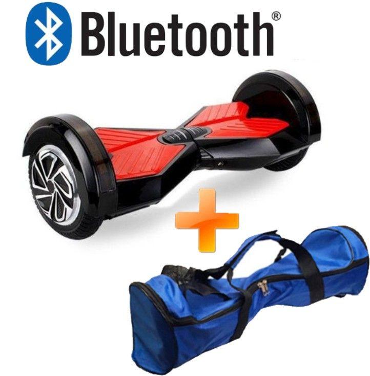 Skate Elétrico 8 polegadas Bluetooth Smartbalance +Bolsa - ILIMITI SHOP