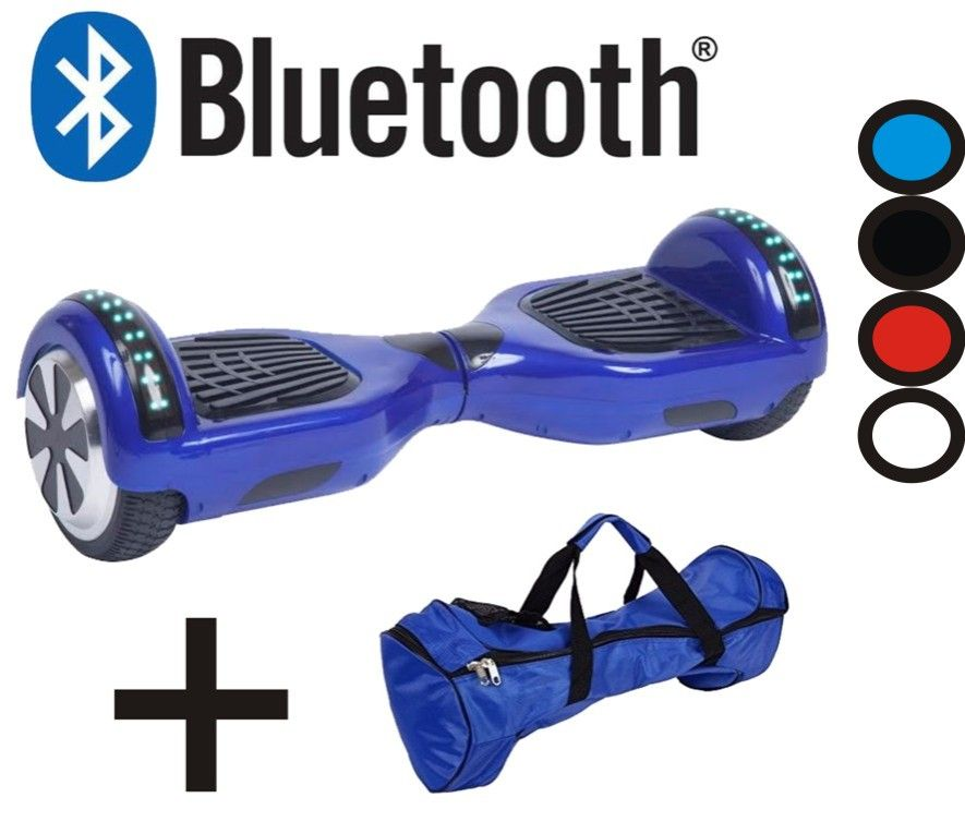 Skate Elétrico Hoverboard Smart Balance Wheel Bluetooth 6.5 - ILIMITI SHOP