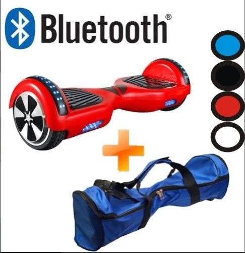 Skate Elétrico Smart Balance Wheel Duas Rodas Bluetooth - ILIMITI SHOP