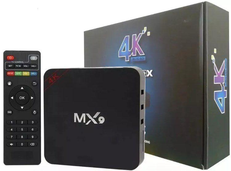 Smartv Tv Box - 16gb E 2gb Ram Com Android 8.1 - 4k Hevc - ILIMITI SHOP