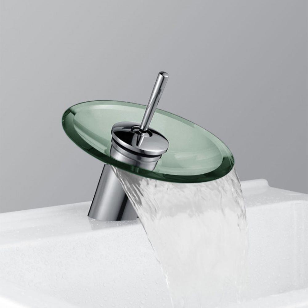 Torneira Banheiro  Cascata Vidro - ILIMITI SHOP