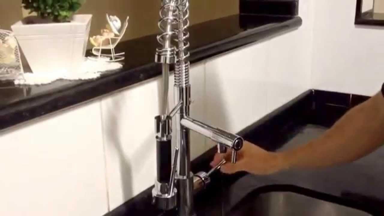 Torneira Cozinha Gourmet Misturador Monocomando Original Luxo 68 Cm CROMADO  - ILIMITI SHOP