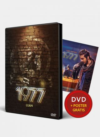 Pr�-Venda DVD Luan Santana 1977 + P�ster Gr�tis