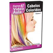 DVD V�deo Aula - Cabelos Coloridos - Tv Treina Video