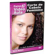 DVD V�deo Aula - Corte de Cabelo Feminino- Tv Treina Video