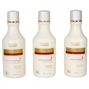 Kit Progressiva G. HAIR 3 passos Inoar - 250ml