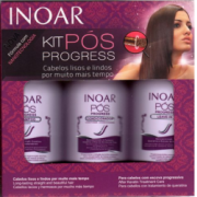 Kit Progress Nanosericina P�s Alisamento INOAR 250ml