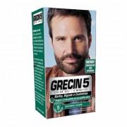 Color Gel para Barba, Bigode e Costeleta Castanho Escuro 14g Grecin 5 // PROMO��O: Compre 2 Produtos