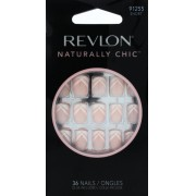 Unhas Curtas Naturally Chic Chevron Smile - Revlon