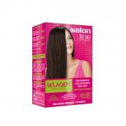 Kit de Selagem Redutora de Volume para Cabelos Ondulados e Volumososo (Shampoo Purificante 54ml+ Fra