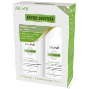 Kit Duo Herbal Solution Shampoo 250ml + Condicionador 250ml - INOAR
