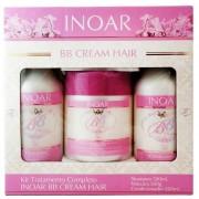 Kit Professional de Tratamento Completo BB CREAM HAIR - INOAR