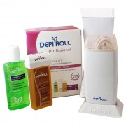 Super Kit para Depila��o Sistema Roll-On Corporal / Facial - DEPIROLL
