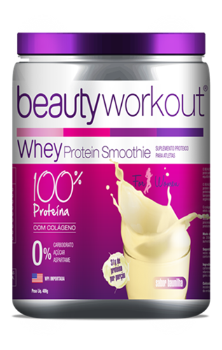 Beauty Workout 400g - Suplemento Alimentar - Baunilha - Beauty In