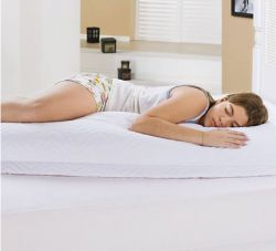 Porta Travesseiro Avulso para Travesseiro de Corpo Fofão com Zíper