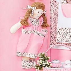 Porta Fraldas Boneca - Coleção Balerina - Rosa