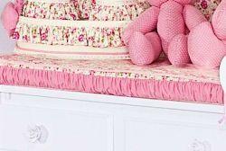 Trocador Avulso de Espuma Emplastificado - Coleção Florence Baby - 100% Algodão - Rosa