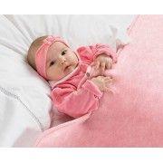 Cobertor Infantil Bebemanta 01 Pe�a - 80cm x 90cm - 03 Func�es - Rosa - Paulo Cezar Enxovais