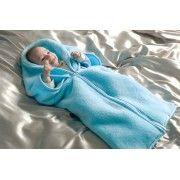 Cobertor Infantil Bebemanta 01 Pe�a - 80cm x 90cm - 03 Func�es - Azul - Paulo Cezar Enxovais