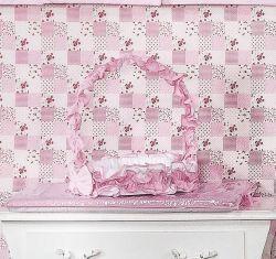 Cesta Fármacia Enfeitada - Coleção Luxo - Rosa
