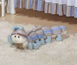 Enfeite Decorativo ´Centopéia´ - Coleção Baby Kids - 62cm - Azul
