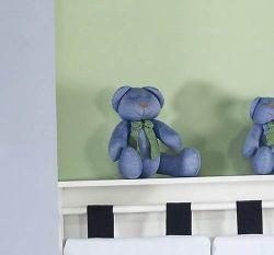 Enfeite Decorativo ´Urso P´ - Coleção Trenzinho - 25cm - Azul