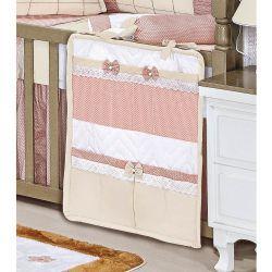 Porta Objetos para Berço de Bebê - Coleção Aurora