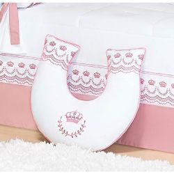 Apoio para Amamentar Bebê - Coleção Elegance Rosé