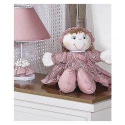 Porta Chupeta - Coleção Flor de Liz