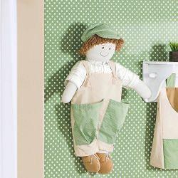 Porta Fraldas Boneco - Coleção Leãozinho Baby