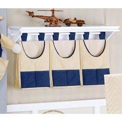 Porta Fraldas de Varão - Coleção My Prince Marinho