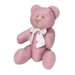 Enfeite Decorativo Urso P - Coleção Nina Camponesa - 25cm