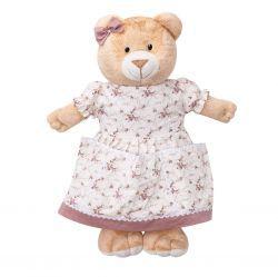 Porta Fraldas Ursa para Quarto de Bebê - Coleção Nina Camponesa