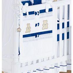 Porta Objetos para Berço de Bebê - Coleção Premier Royal