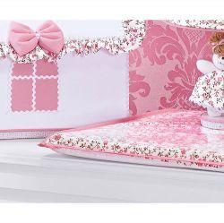 Trocador Avulso de Espuma Plastificado Coleção Princesinha Baby Rosa