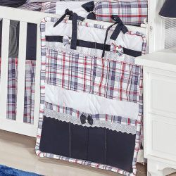 Porta Objetos para Berço de Bebê - Coleção Sailor