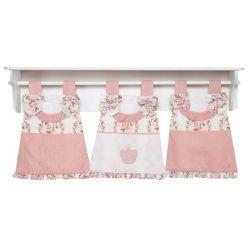 Porta Fraldas de Varão para Quarto Bebê - Coleção Ursa Naná