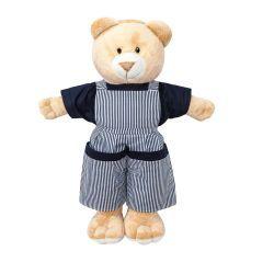 Porta Fraldas Urso para Quarto de Bebê Coleção Versailles - Marinho