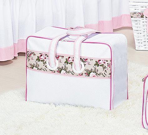 Mala Maternidade Courano - Coleção My Princess - Rosa