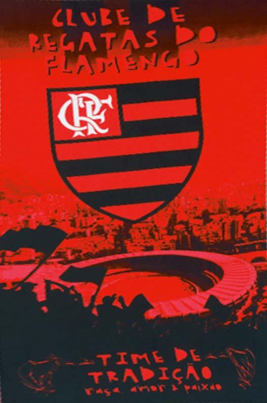 Toalha Praia Flamengo - 100% Algod�o - 1,52cm x 76cm - Licenciado