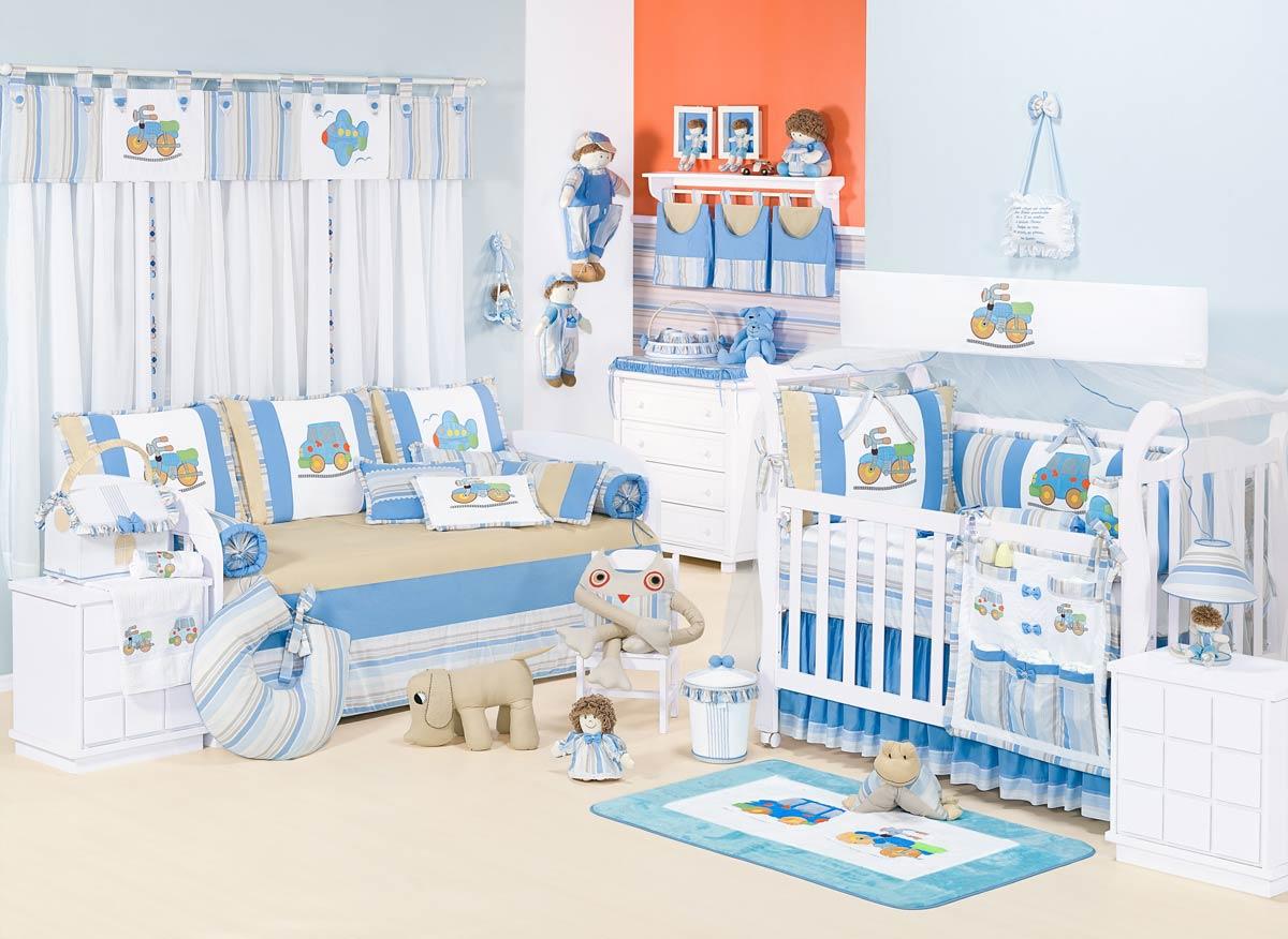 Almofada Decorativa Carrinho - Coleção Aventura - 100% Algodão - Siliconado - Azul