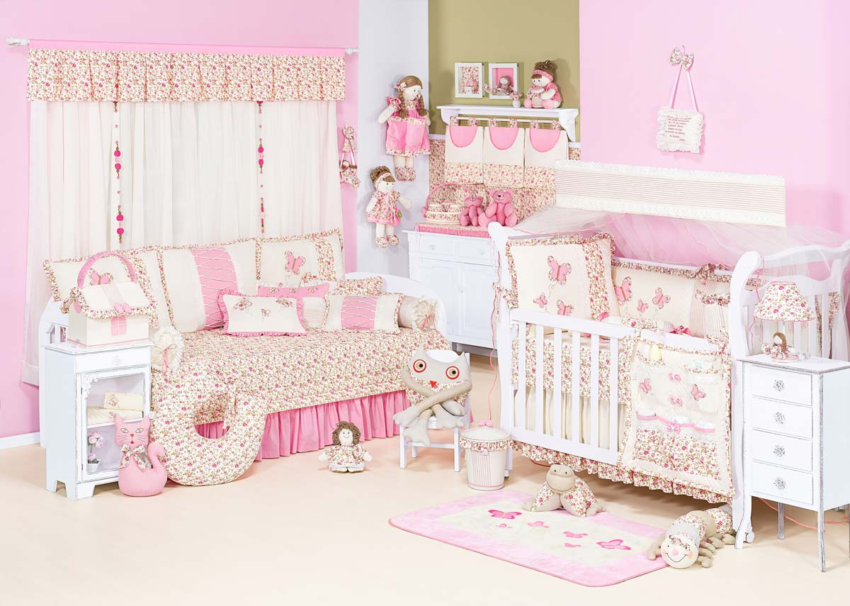 Farmacinha de Casinha - Coleção Florence Baby - Palha c/ Rosa