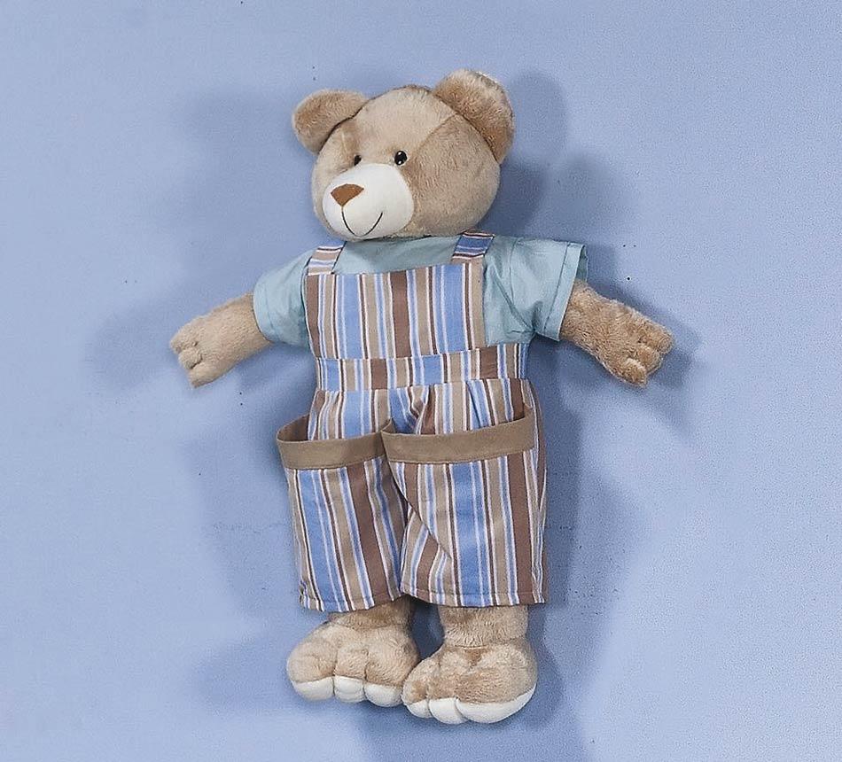 Porta Fraldas Urso - Coleção Baby Kids - 70cm alt. Aprox. - Azul