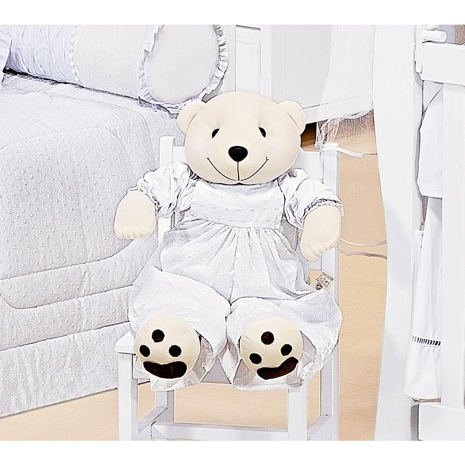 Porta Fraldas Urso - Cole��o Algod�o Doce - 70cm alt.