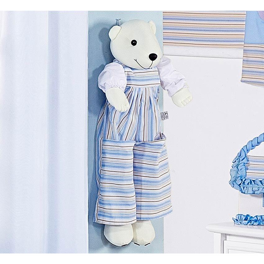 Porta Fraldas Urso - Cole��o Ursinho Baby - 70cm alt.