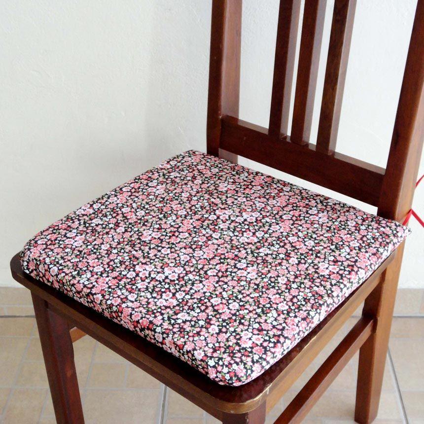 Assento para Cadeira Estampado - Florzinha