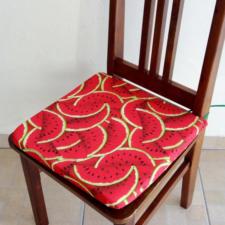 Assento para Cadeira Estampado - Melancia