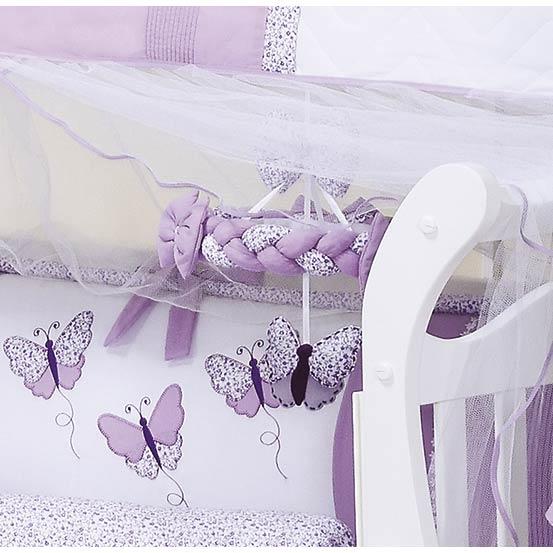Móbile para Berço de Bebê - Coleção Butterfly Baby